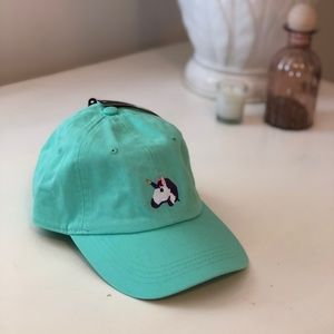 Unicorn Logo Baseball Hat